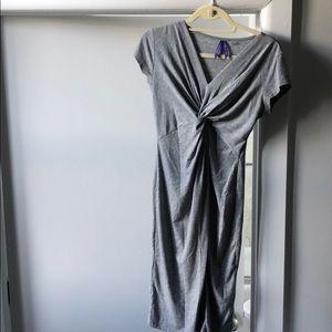 Seraphine grey maternity dress size 2